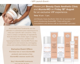 AlumierMD VIP LAUNCH EVENT