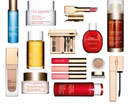 Clarins Gold Salon Birthday Party